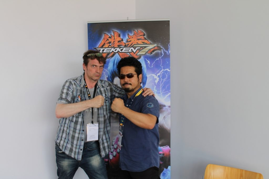 Harada-san auf der Japan Expo Paris