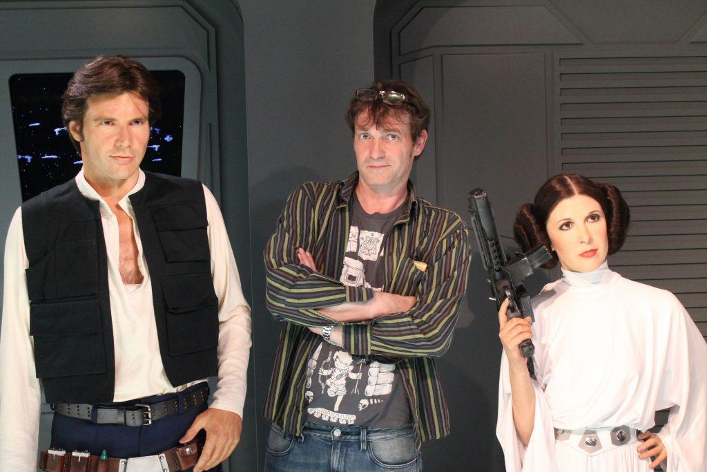 Han, Leia und ich