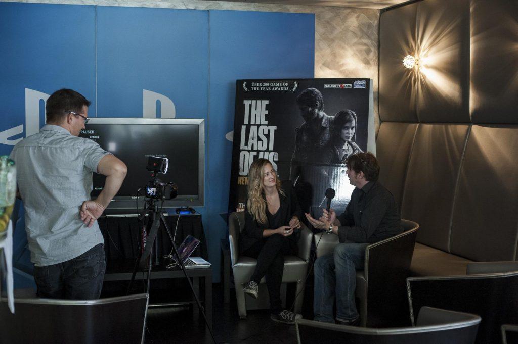 Ulrich Wimmeroth - Ashley Johnson Interview