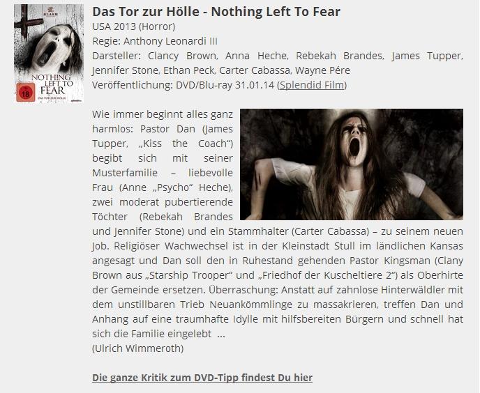 Ulrich Wimmeroth - Das Tor zur Hoelle - Filmabriss