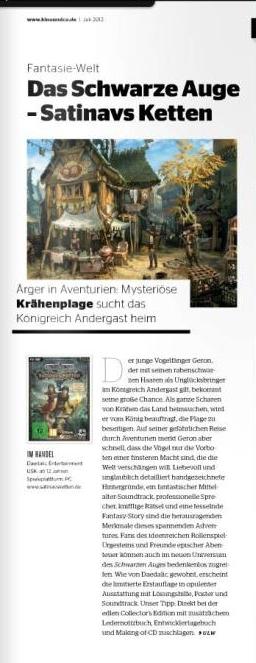 Ulrich Wimmeroth - Das schwarze Auge - Satinavs Ketten