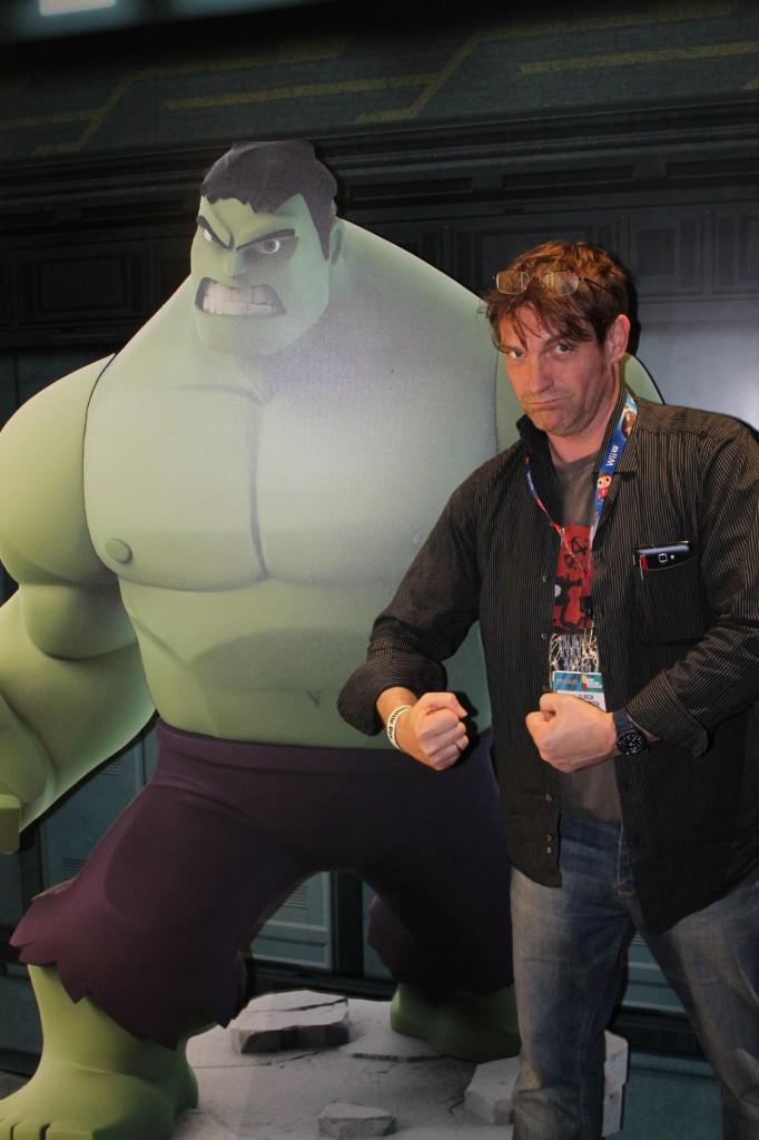 Ulrich Wimmeroth - Disney Infinity 2.0 Hulk Posing