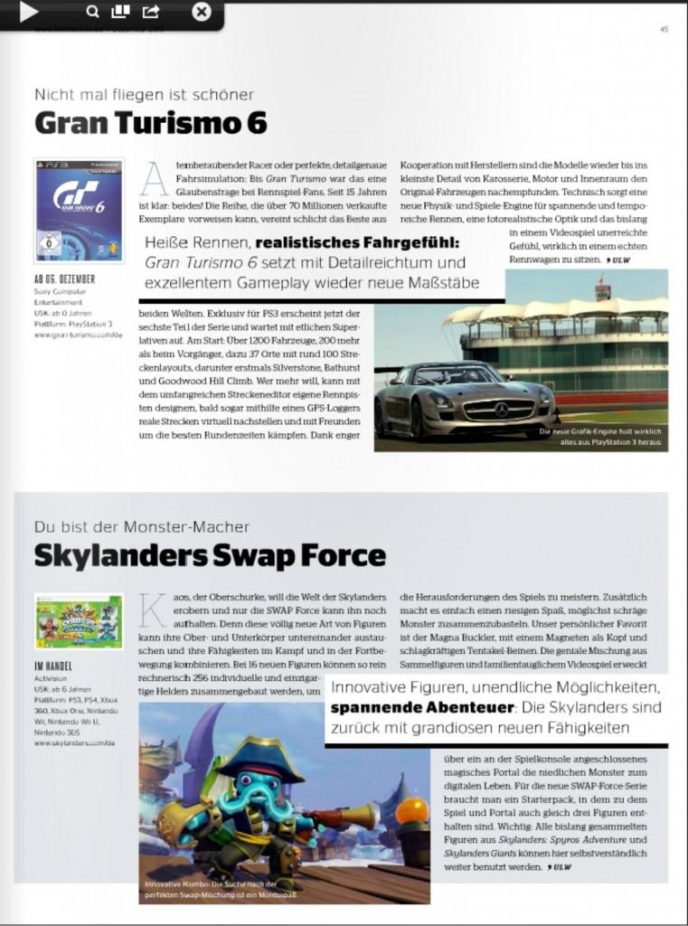 Ulrich Wimmeroth - Gran Turismo 6 - Skylanders Swap Force