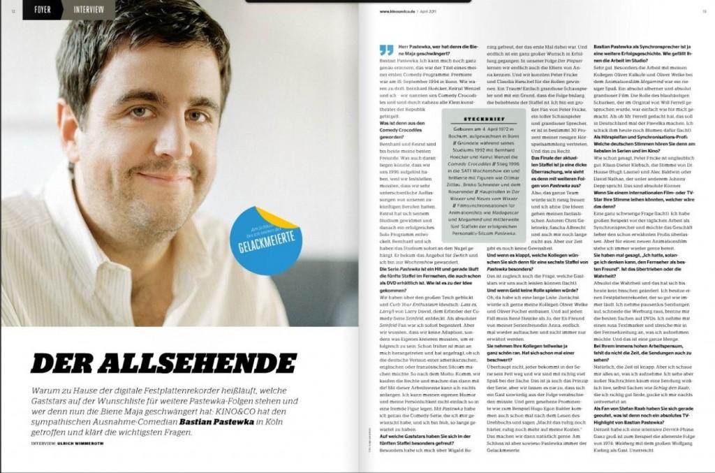 Ulrich Wimmeroth - Interview Bastian Pastewka