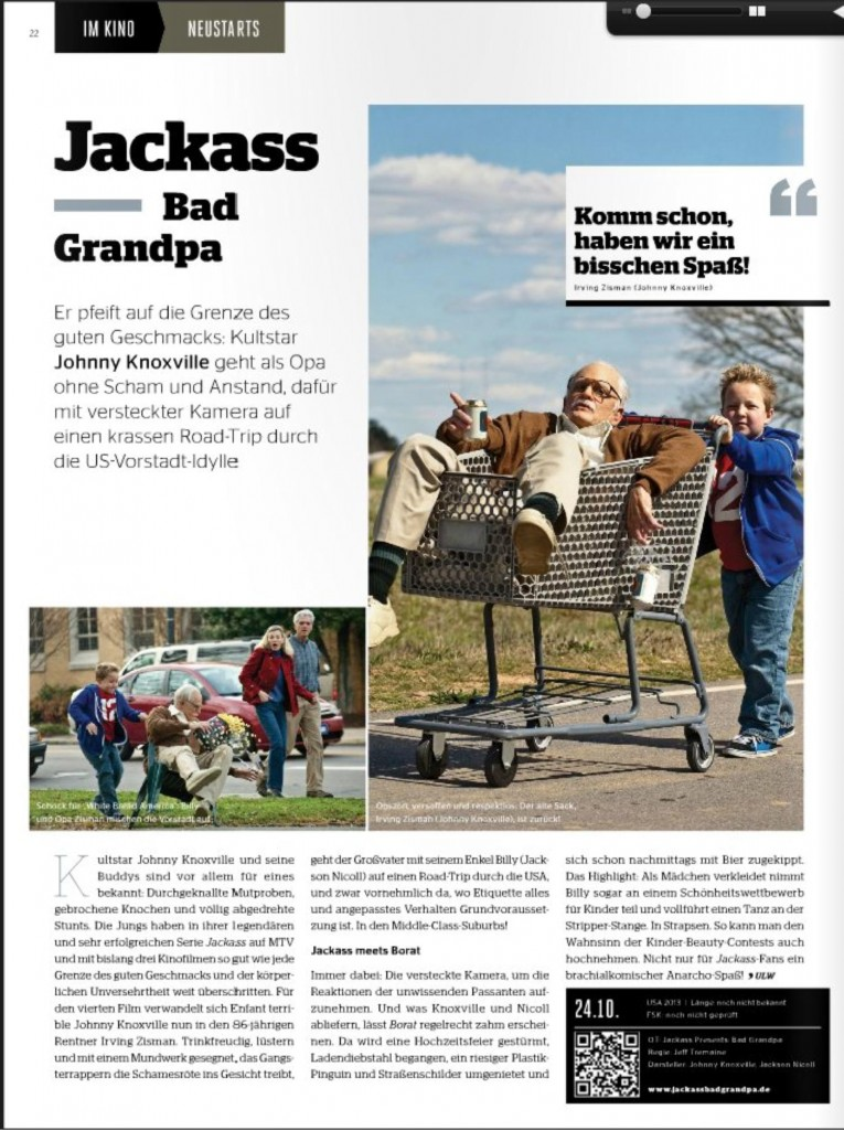 Ulrich Wimmeroth - Jackass - Bad Grandpa