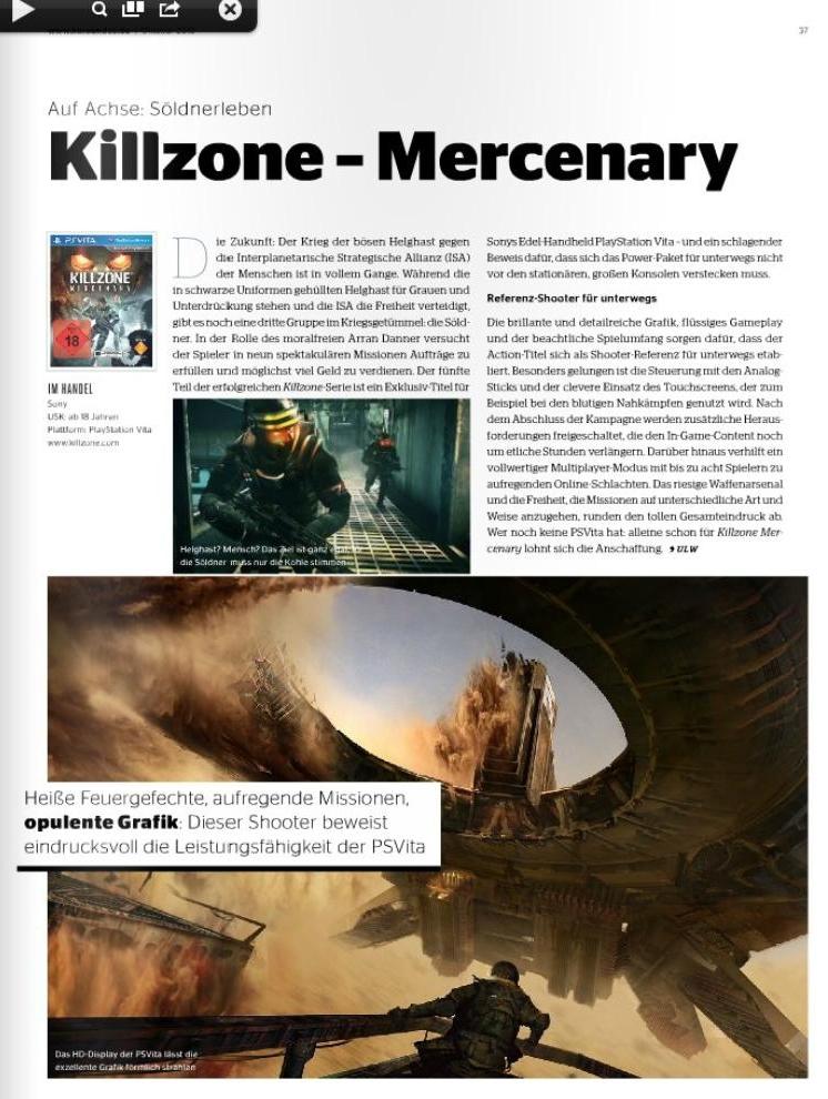 Ulrich Wimmeroth - Killzone Mercenary
