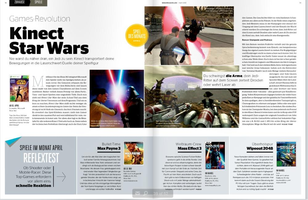 Ulrich Wimmeroth - Kinect Star Wars