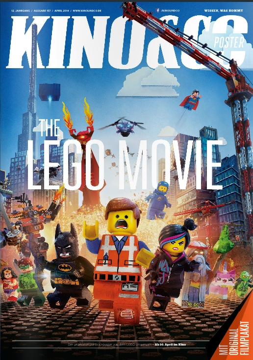 Ulrich Wimmeroth - LEGO The Movie - Poster Magazin Cover