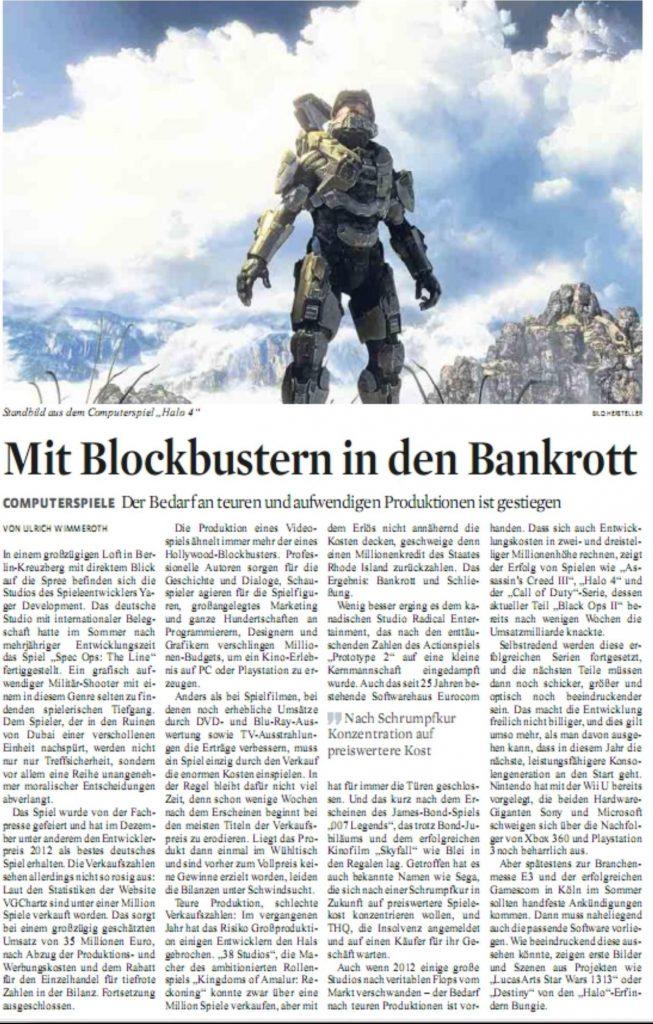Ulrich Wimmeroth - Mit Blockbustern in den Bankrott - Koelner Stadt-Anzeiger