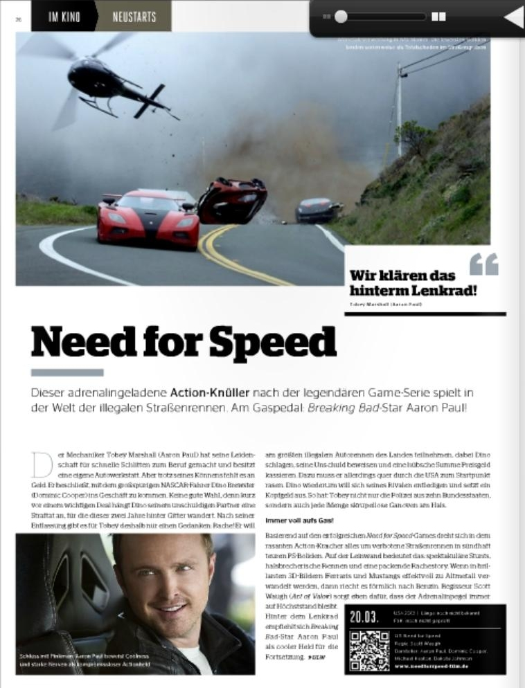 Ulrich Wimmeroth - Need for Speed