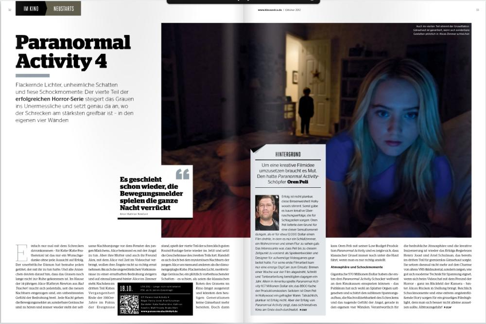 Ulrich Wimmeroth - Paranormal Activity 4