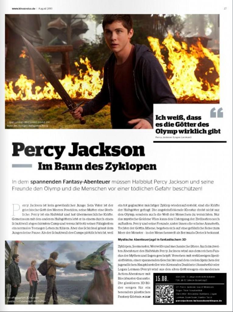 Ulrich Wimmeroth - Percy Jackson - Im Bann des Zyklopen
