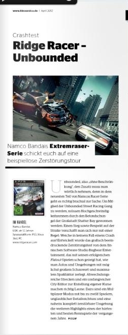 Ulrich Wimmeroth - Ridge Racer Unbounded