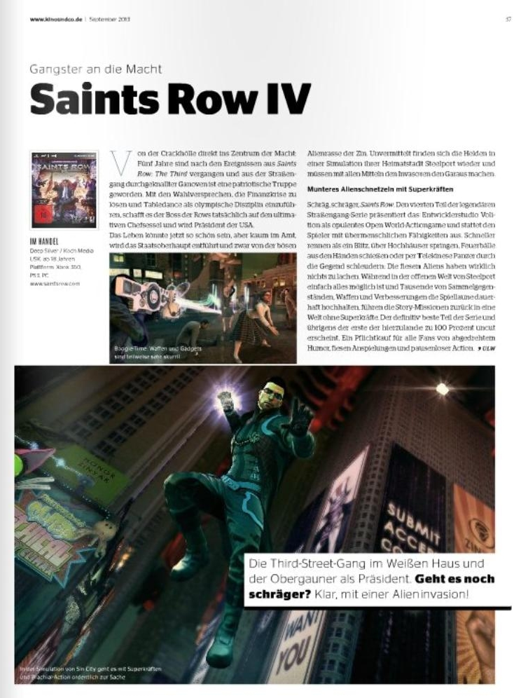 Ulrich Wimmeroth - Saints Row IV