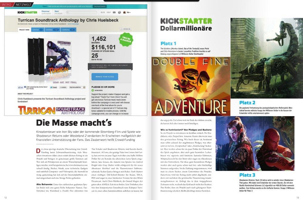 Ulrich Wimmeroth - Special - Kickstarter