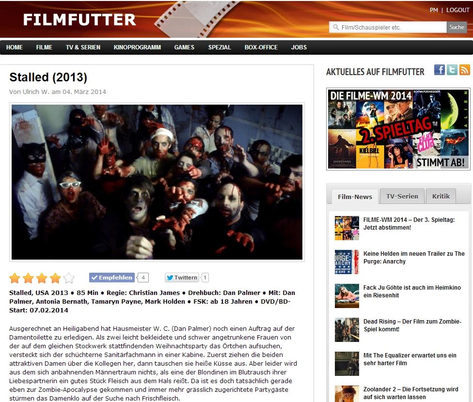Ulrich Wimmeroth - Stalled Filmkritik