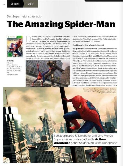 Ulrich Wimmeroth - The Amazing Spider-Man