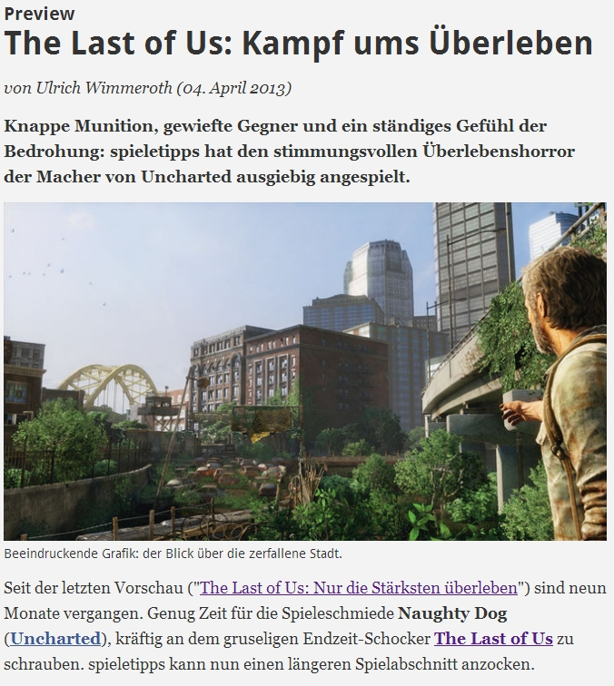 Ulrich Wimmeroth - The Last of Us