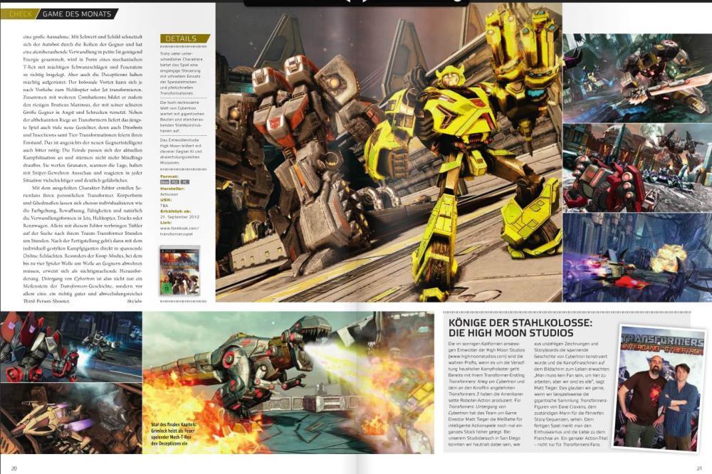 Ulrich Wimmeroth - Transformers - Untergang von Cybertron