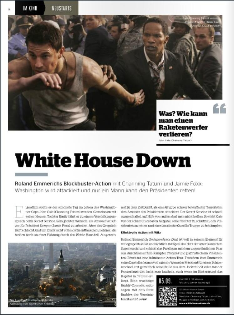 Ulrich Wimmeroth - White House Down