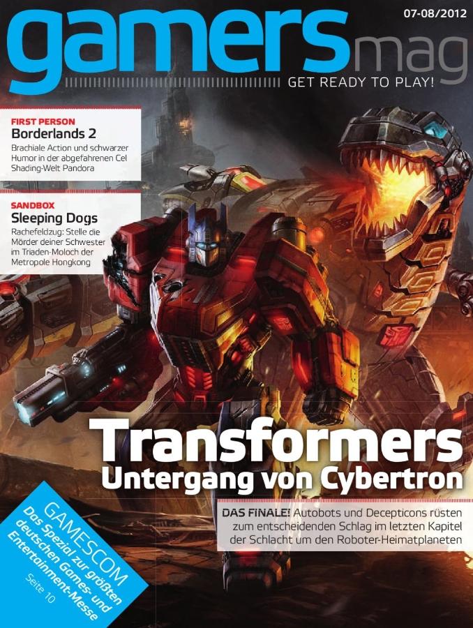 Ulrich Wimmeroth - Gamersmag - Ausgabe 07