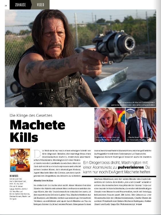 Ulrich Wimmeroth - Machete Kills