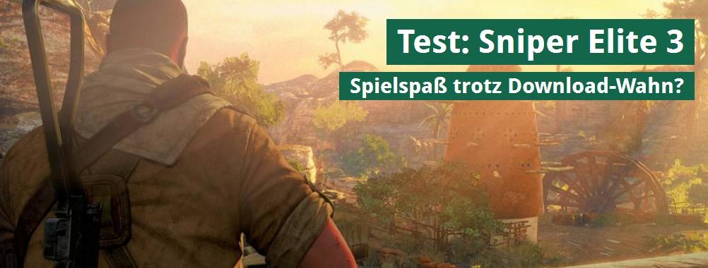 Ulrich Wimmeroth - Sniper Elite 3 - Test