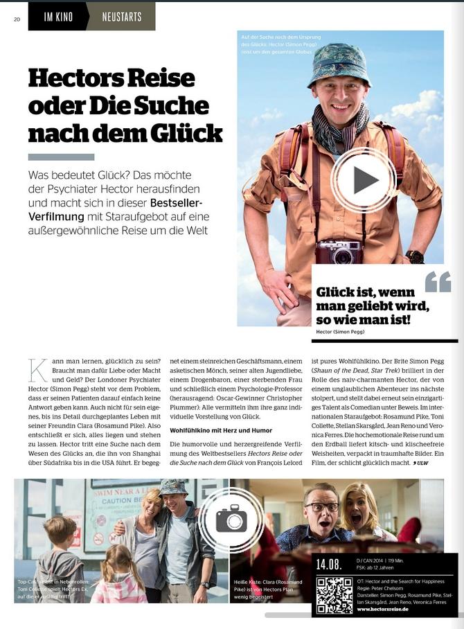 Ulrich Wimmeroth - Hectors Reise oder Die Suche nach dem Glueck