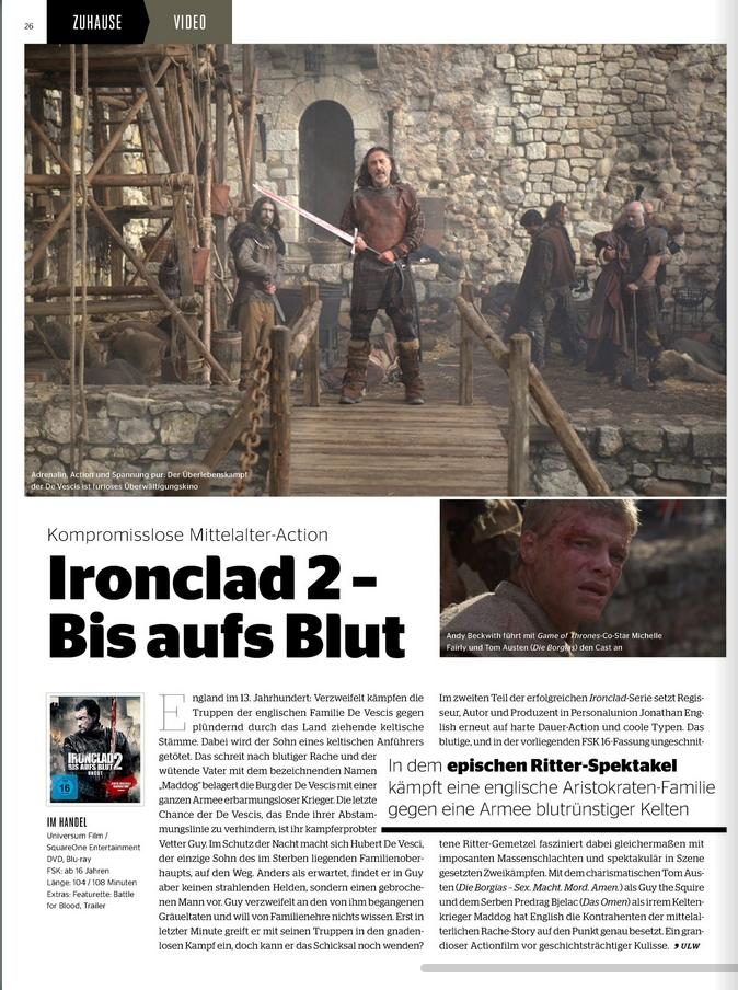 Ulrich Wimmeroth - Ironclad 2 - Bis aufs Blut