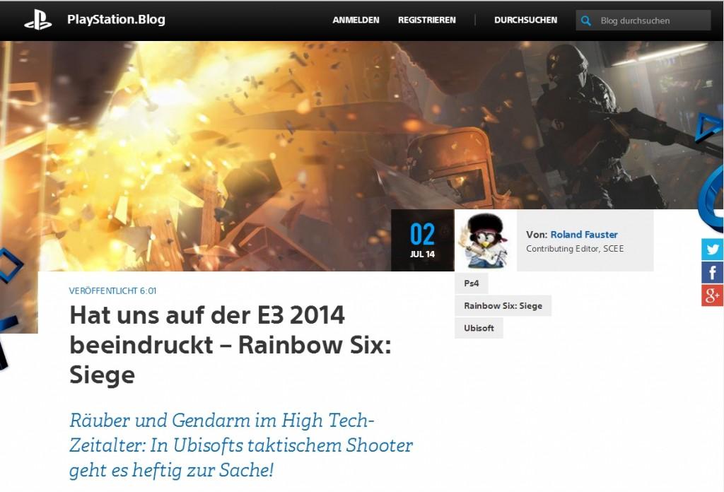 Ulrich Wimmeroth - Rainbow Six Siege