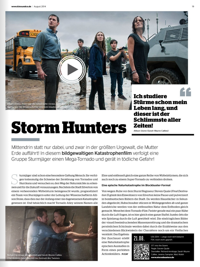 Ulrich Wimmeroth - Storm Hunters - Preview