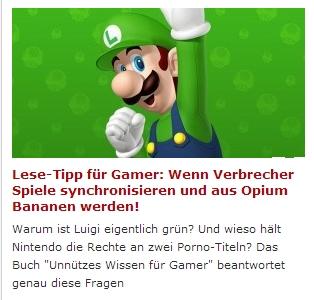 Ulrich Wimmeroth - Unnuetzes Wissen fuer Gamer - Buchvorstellung