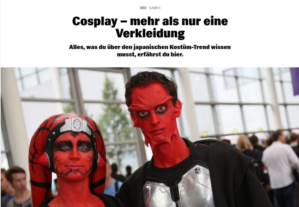Cosplay - mehr als nur eine Verkleidung - Ulrich Wimmeroth