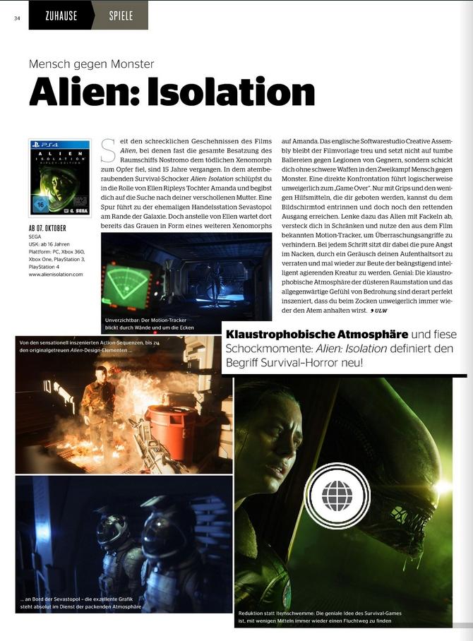 Ulrich Wimmeroth - Alien Isolation