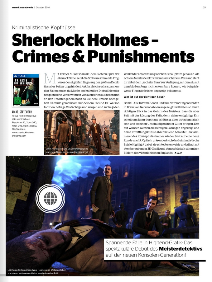 Ulrich Wimmeroth - Sherlock Holmes Crimes and Punishments