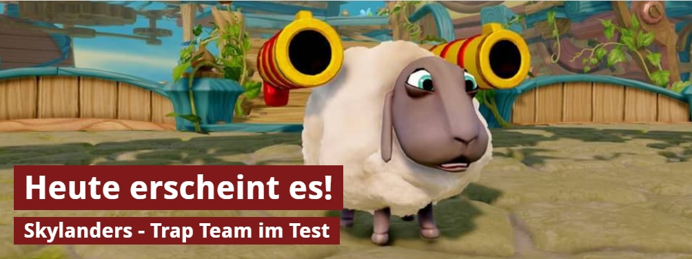 Ulich Wimmeroth - Skylanders Trap Team Test
