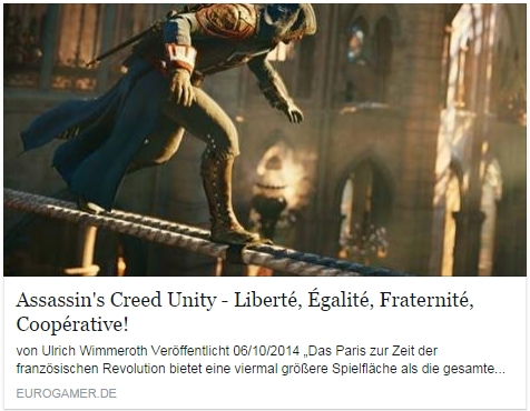 Ulrich Wimmeroth - Assassins Creed Unity - eurogamer