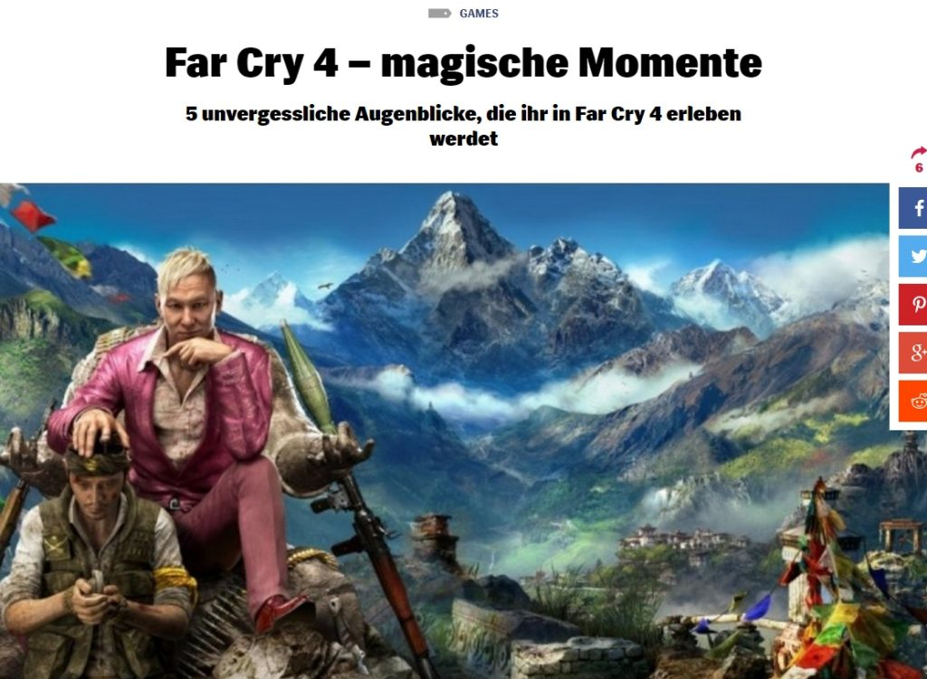 Ulrich Wimmeroth - Far Cry 4 - Magische Momente - Red Bull