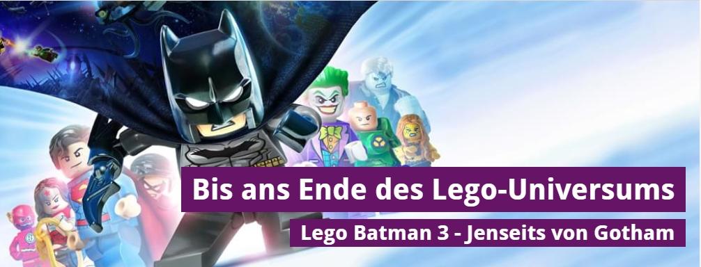 Ulrich Wimmeroth - Lego Batman 3 - Jenseits von Gotham - spieletipps