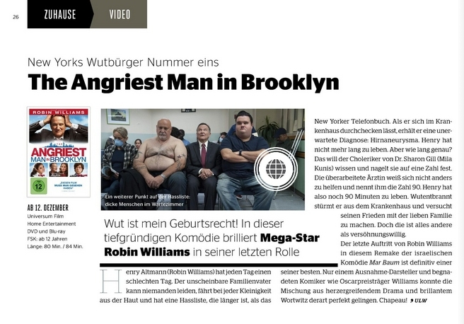 Ulrich Wimmeroth - The Angriest Man in Brooklyn