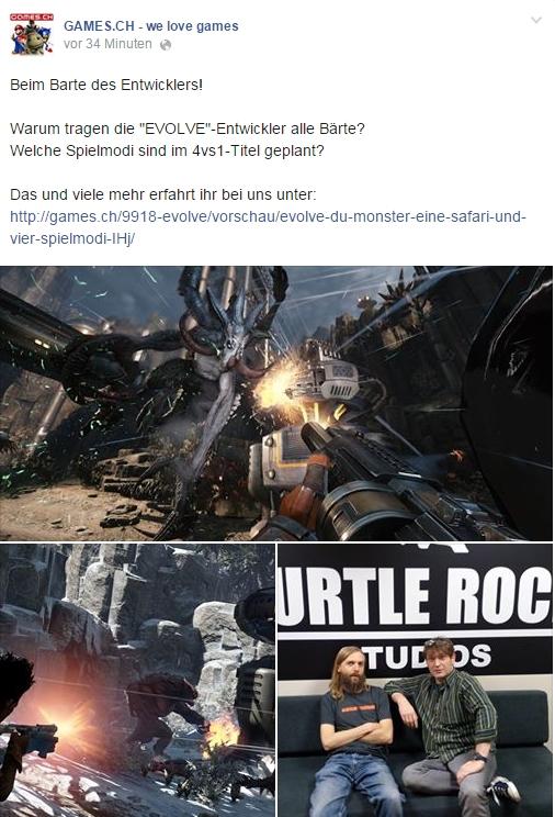 Ulrich Wimmeroth - Evolve - games.ch