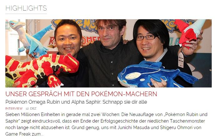 Ulrich Wimmeroth - Interview mit den Pokemon Machern - games.ch