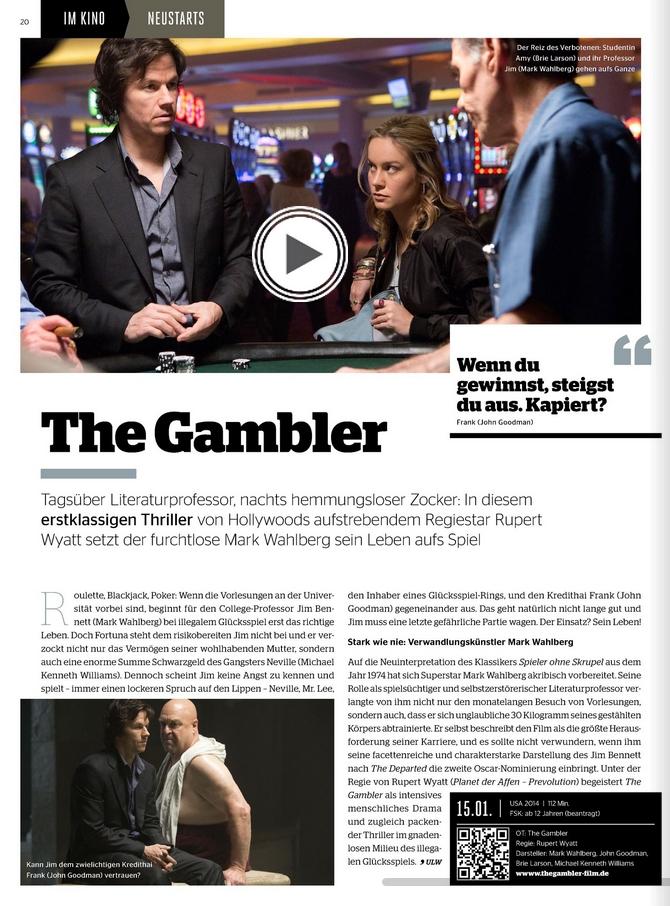 Ulrich Wimmeroth - The Gambler - Kinoundco