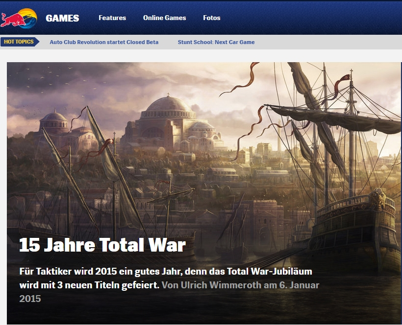 Ulrich Wimmeroth - Total War - Red Bull