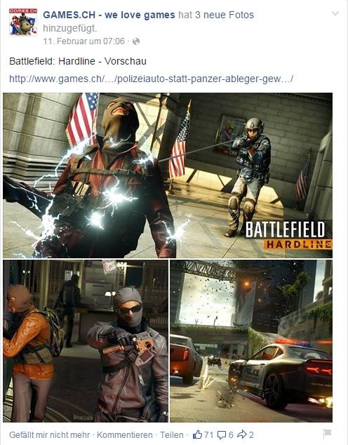 Ulrich Wimmeroth - Battlefield Hardline - games.ch
