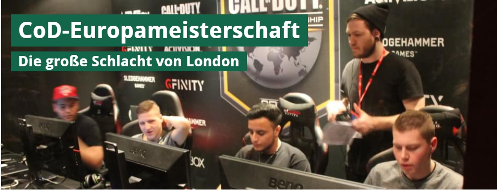 Ulrich Wimmeroth - Call of Duty european championship 2015 - spieletipps