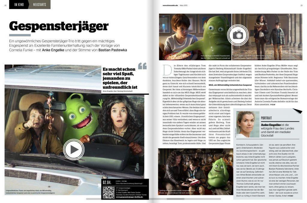 Gespensterjäger - Filmkritik | Ulrich Wimmeroth