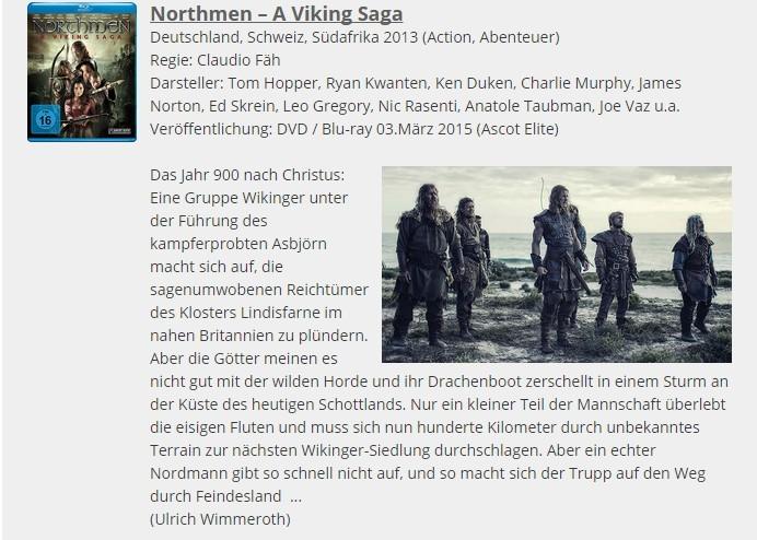 Ulrich Wimmeroth - Northmen A Viking Saga - Filmabriss