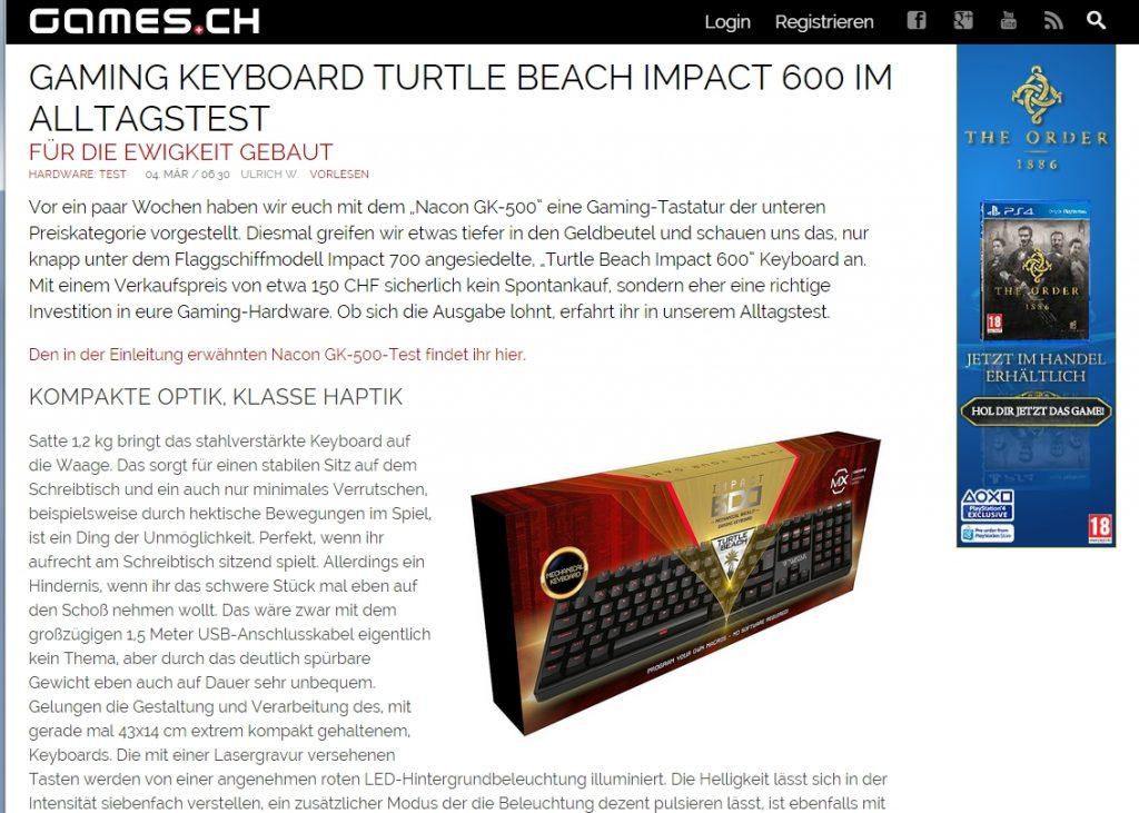 Ulrich Wimmeroth - Turtle Beach Impact 600 Test - games_ch
