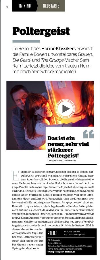 Ulrich Wimmeroth - Poltergeist - Kino und Co 169